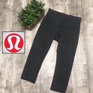 Lululemon Wunder Under Crop Cotton